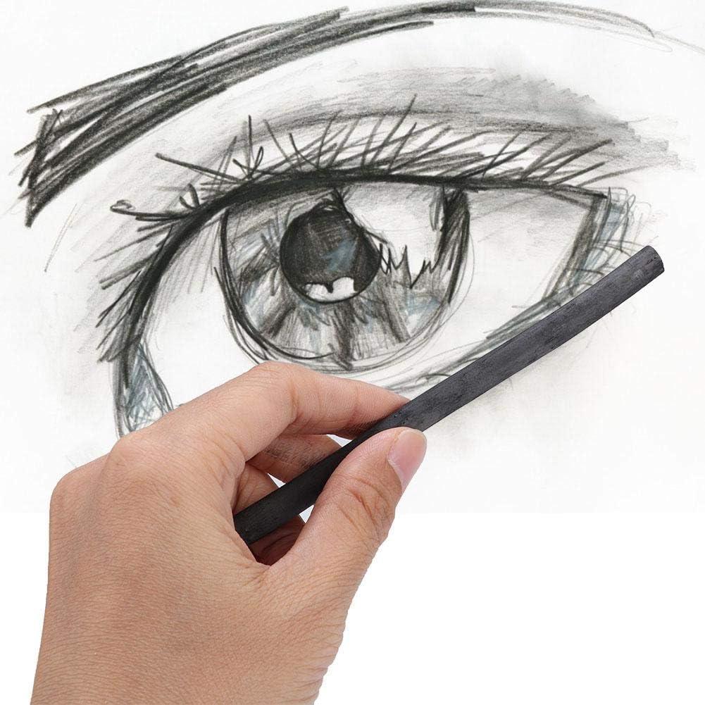 Marley 7330 Charcoal Bar Art Supplies-25Pcs Charcoal Pencil Painting Charcoal Artist Art Painting Tools Sketch Pencil