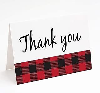 Best lumberjack thank you cards Reviews