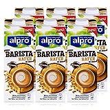 Alpro Barista Hafer 1L - Biologischer Haferdrink - Aufschäumbar - Milder Geschmack - Von Natur aus laktosefrei (6er Pack)