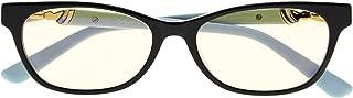 CessBlu Ladies Computer Glasses Anti Blue Light Eyestrain Dry Eyes for Women Reading Screen Acetate Frame