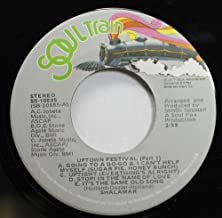 Shalamar 45 RPM Uptown Festival (Part 1) Going To A Go-Go | I Can't Help Mysel (Sugar Pie, Honey Bunch) | Uptight (Everything's Alright) | Stop! In The Name Of Love | It's The Same Old Song / Uptown Festival (Part 2) The Tears Of a Clown | Love Is Like An Itching In My Heart | This Old Heart Of Mine (Is Weak For You) | Baby Love | He Was Really Saying Somethin'