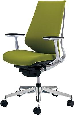 コクヨ デュオラ イス オフィスチェア ライトオリーブ クッションタイプ デスクチェア 事務椅子 シンプルデザイン多機能チェア CR-GA3141E1KZQ4-W 【ラクラク納品サービス】