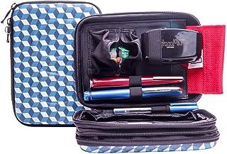 Glucology® Diabetic Travel Case - Organizer for Blood Sugar Test Strips, Medication, Glucose Meter, Pills, Tablets, Pens, ...