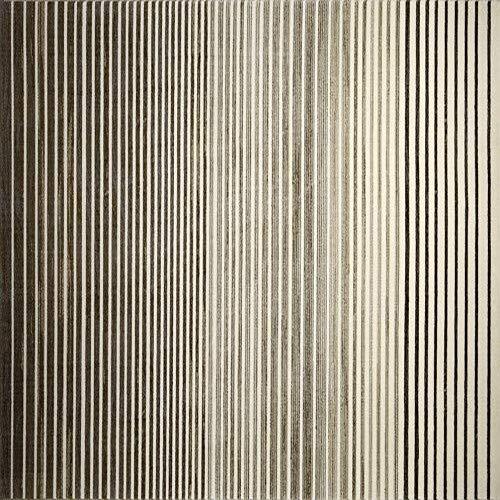 ESPRIT Nifty Stripes Moderner Markenteppich, Polyester, Braun, 200 x 133 x 0.85 cm