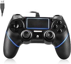 Powcan PS4 Controller Bedrade Controller voor Playstation 4 Dual Vibration Shock Joystick Gamepad voor PS4/PS4 Slim/PS4 Pr...
