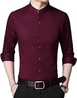Sliktaa Camisa Formal para Hombre