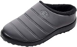 MAYOGO Winterschoenen voor dames en heren, katoen, sneeuwschoenen, plus-fluweel, warm, low-top, winterschoenen, pantoffel...