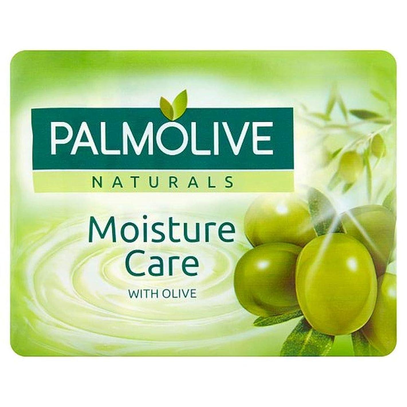 伝統ラケットキャラクター[Palmolive ] パルモナチュラル水分ケア石鹸4×90グラム - Palmolive Naturals Moisture Care Bar Soap 4 X 90g [並行輸入品]