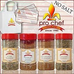 Seafood Lovers Seasonings Gift Package No Salt Version