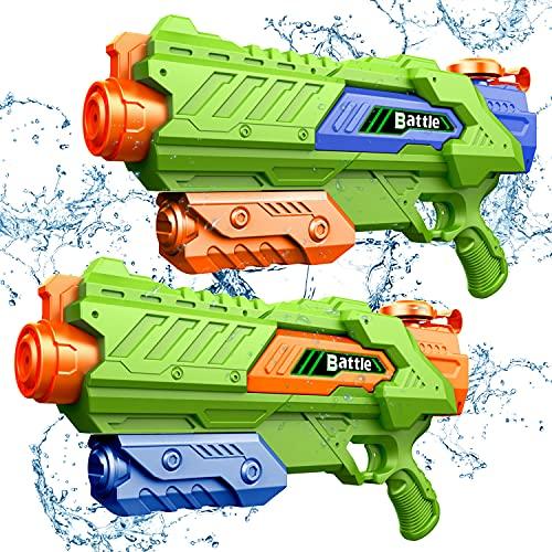 JINRUCHE Water Guns - Squirt Gun for Kids & Adult 1400CC 40 Feet Long...