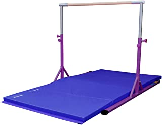 Z-Athletic Elite Gymnastics Adjustable Bar Gymnastics Mat in Multiple Colors Sizes