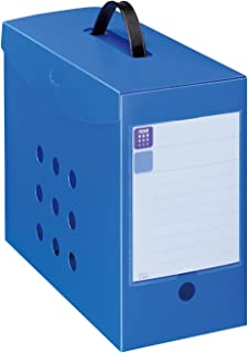 Lion Office box file noil noile BF-42n Blue 11765 (japan import)