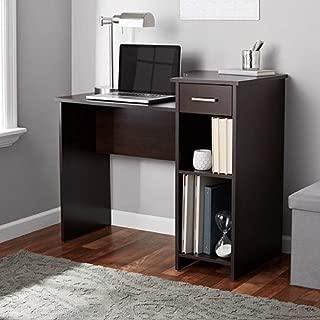Mainstays Student Desk, Black (Desk Only, Cherry)