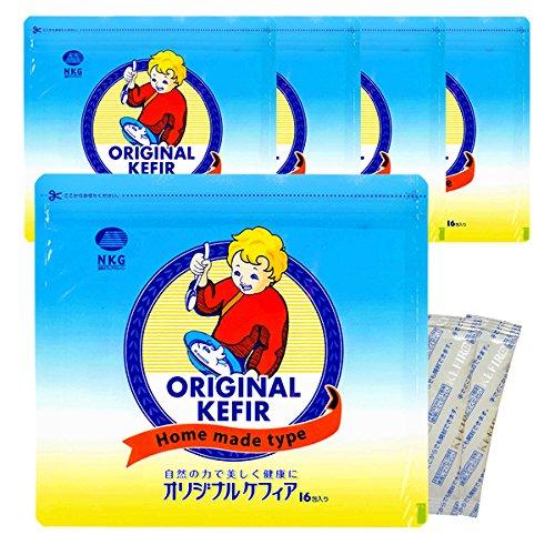 まとめ買い オリジナルケフィア5袋(80包)ケフィアヨーグルトの種菌