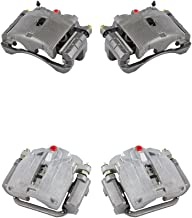 CCK11445 FRONT + REAR [4] Premium Grade Semi-Loaded OE Caliper Assembly Set Kit