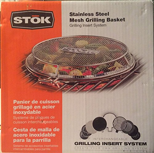 Stok Stainless Steel Mesh Grilling Basket-New