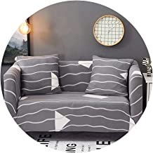 ZFADDS New Modern Elastic Stretch Sofa Covers Sofa Couch Slipcovers 1/2/3/4 Seater Sectional Sofa Covers,Color 14,2Pcs Cushion Covers