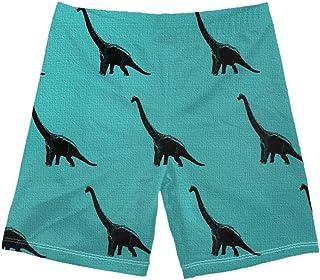 WHEREISART Cute Sea Aimal Printed Short Swim Trunks Little Boys Boardshorts Quick Dry Swim Suit