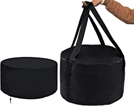 "bbq777 21"" Dia Firebowl Carry Bag and Cover Kit for Outland Firebowl 863 864 Cypress Outdoor Portable Propane Gas Fire Pit..."