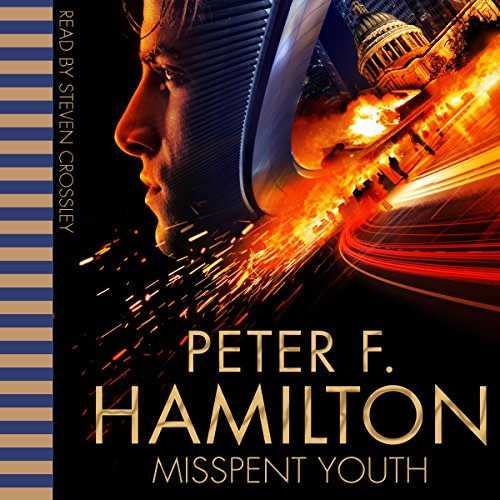 Misspent Youth audiobook cover art