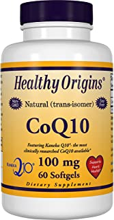 CoQ10-100mg-Kaneka Q10 60 Softgels