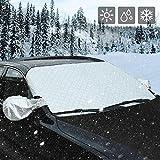 AUTSCA Scheibe Abdeckung Frontscheibe Abdeckung Auto Windschutzscheibe Schneeabdeckung