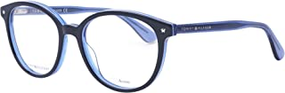 Tommy Hilfiger 1552 Monturas de Gafas para Mujer, Blue Azure, 51 mm
