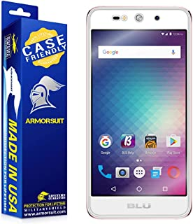 ArmorSuit MilitaryShield [Case Friendly] Screen Protector for BLU Grand Energy - Anti-Bubble HD Clear Film