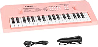 M SANMERSEN Piano Keyboard with Microphone, Portable Music P