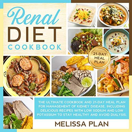 Page de couverture de Renal Diet Cookbook
