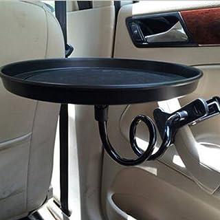 Trinken Essen Tasse Tray Mount Halter Stand für Auto Reisen Auto Swivel Schwarz