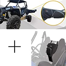 UTV Cab Pack RZR 900 1000 Door Bags RZR Between Seat Bag KEMIMOTO Waster-resistant Center Pouch Storage Bags