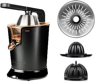 Taurus Easy Press 600 - Presse agrumes électrique levier professionnel 600W, Moteur à courant alternatif, 2 cônes pour tou...