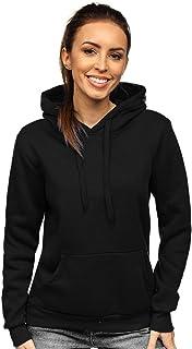 Tuopuda Femme Pull /À Glissi/èe Pulls zipp/és Sweatshirt avec Poches Manches D/écontract/é Longues Veste Hooded Sweatshirt Chaud Automne Hiver