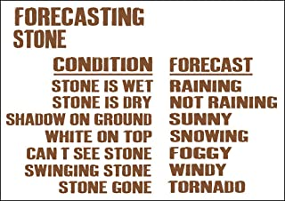 weather forecasting rock