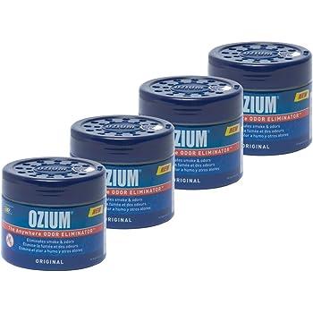 Ozium 804281-4 Smoke & Odors Eliminator Gel, Original Scent, 4 Pack