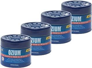 Ozium 804281-4 Smoke & Odors Eliminator Gel. Home, Office and Car Air Freshener 4.5oz (127g), Original Scent (Pack of 4)