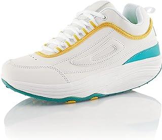 Fusskleidung® Damen Herren Sneaker Abrollsohle Sportschuhe leichte Gesundheitsschuhe