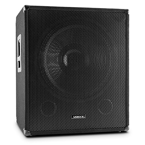 Vonyx SWA15 aktiver PA-Subwoofer Lautsprecher PA-Lautsprecherbox (38cm (15
