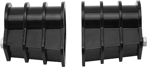 Hebilla de escalera, 2 piezas Kit de repuesto de escalera de piscina Escalera de amortiguación Piezas integradas Accesorios Brida de escalera para piscina