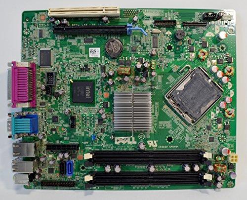 New DELL Optiplex 760 Desktop SFF Main Logic Integrated Intel Chipset System Pentium/Celeron CPU Processor Socket LGA775 DDR2 SDRAM Dimm Memory Expansion Slots PCI Express VGA/USB/Serial/Parallel/ESATA/RJ45 Lan Performance M863N Motherboard F373D