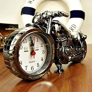 ekqw015l Fashion Clock for Home Living Room Bedroom Decor & Motorcycle Alarm Clock Model Retro Alarm Clock Personalized Desktop Ornament