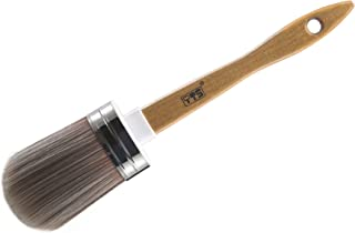 YTS Chalk and Wax Paint Brush for Furniture, Painting or Waxing, Clear or Dark Soft Wax , Easy Cleaning and Re-Usable,Comp...