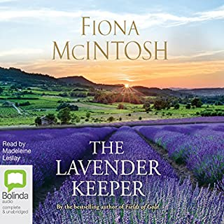 The Lavender Keeper                   By:                                                                                                                                 Fiona McIntosh                               Narrated by:                                                                                                                                 Madeleine Leslay                      Length: 15 hrs and 30 mins     64 ratings     Overall 4.7