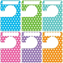 Closet Doodles 6 clothing dividers polka dot any size adult or baby Plus 48 Sorting Labels