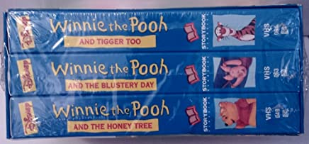 Disney Storybook Classics: Winnie the Pooh and Tigger Too, the Blustery Day, the Honey Tree [Vhs]1