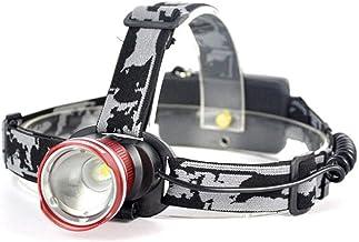 QSCTYG Hoofd Torch LED Koplamp Zoomable Batterij Zaklamp Waterdicht Voor Camping Vissen Hoofd Torch 348