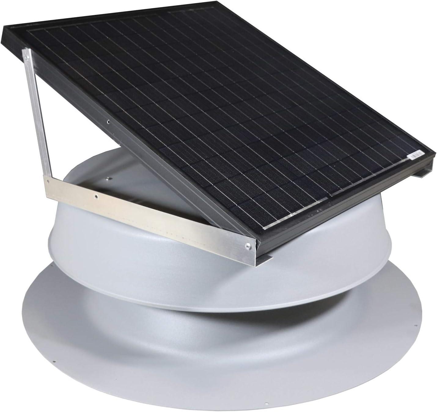 Solar Attic Over item handling ☆ Fan Minneapolis Mall 48-watt Light by Natural