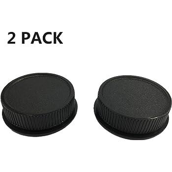 Sensei 72mm Screw-in Metal Lens Cap 4 Pack