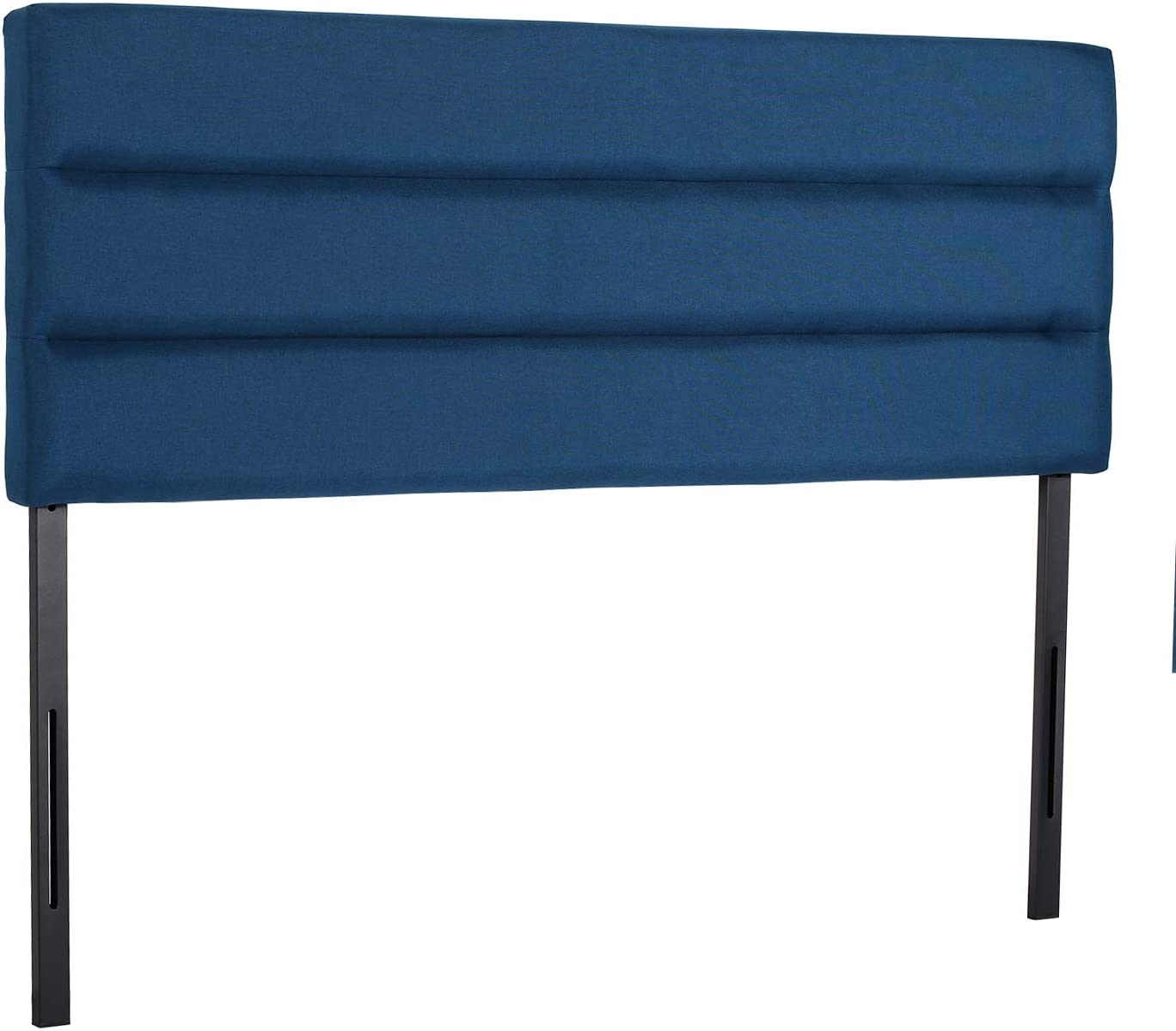 VECELO Upholstered Height Adjustable in ご予約品 Headboard Fabric Linen 現品